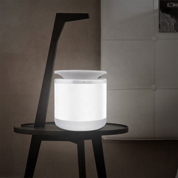 KET001 -Night Light mit Wireless Charger Atmosphere Light mit verstellbarem Farb - und Gleichstromadapter